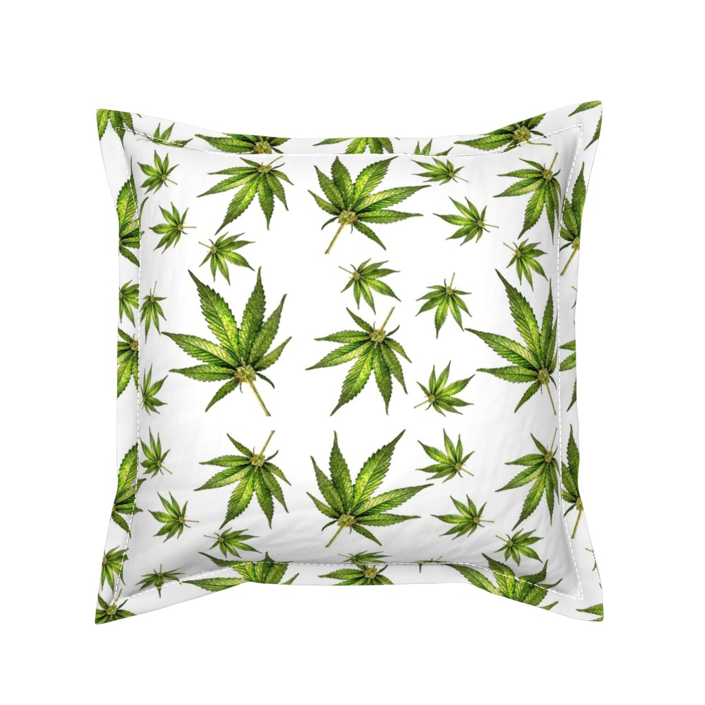 Serama Throw Pillow featuring Humboldt On White by rima