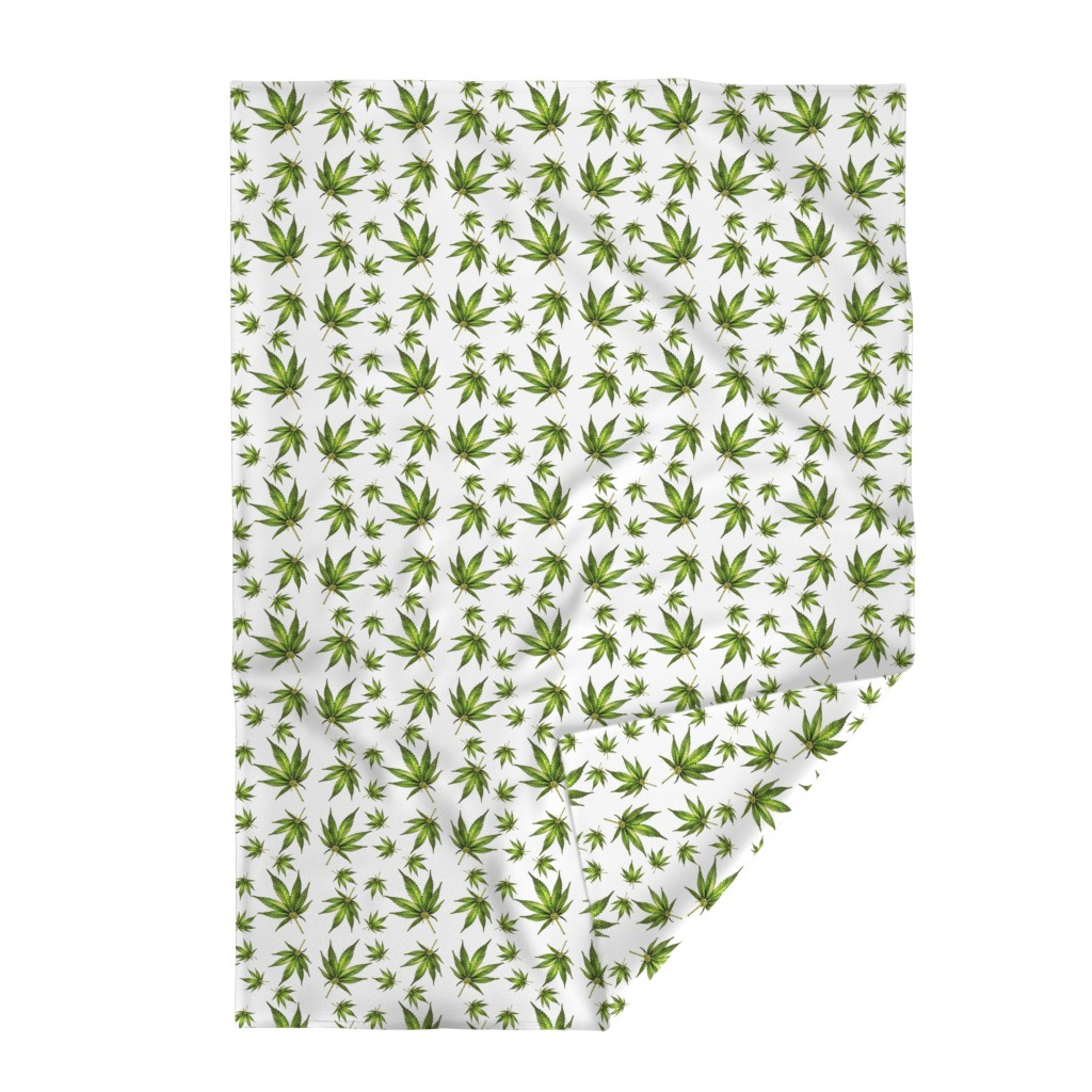 Lakenvelder Throw Blanket featuring Humboldt On White by rima
