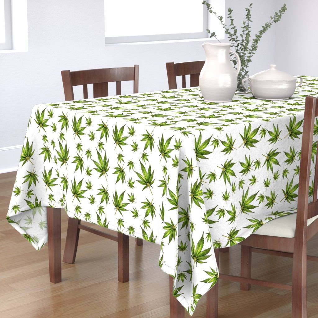 Bantam Rectangular Tablecloth featuring Humboldt On White by rima