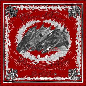 Equestrian bandana: Red