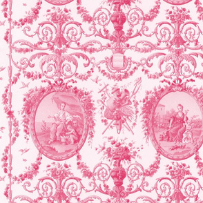 Rococo Harvest ~ Pink and White