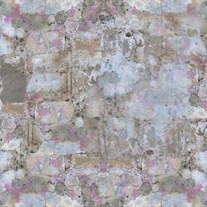 Grey Mottled Cement Wall
