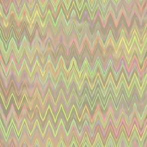 zigzag in mother of pearl