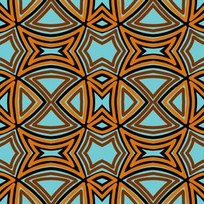 basket-weave-blue brown