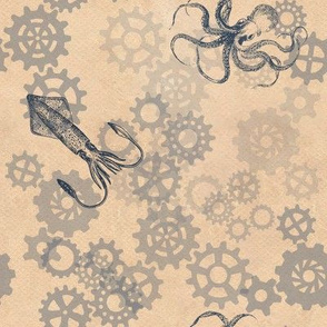 Octopus Gears Cream