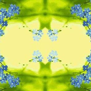 Flowers9-blue/green