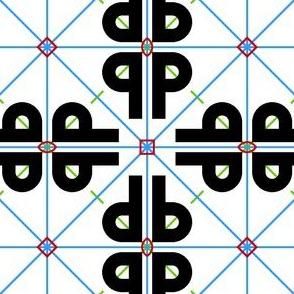 01855848 : symmetry group p4mm