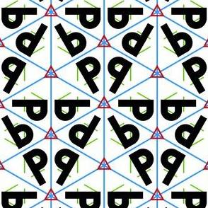01855851 : symmetry group p3m1