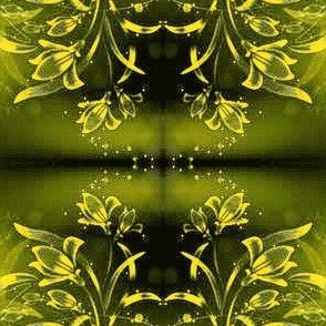 Flowers17-yellow/green