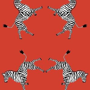 Custom Big Red Zebras