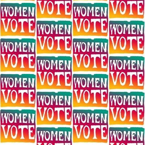 Women Vote ~ Full Color