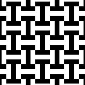 01858963 : letter I4 : black + white