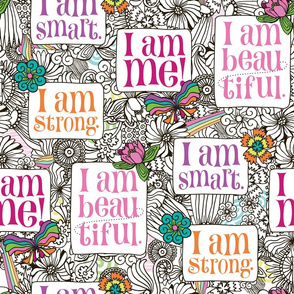 Strong Smart Beautiful ME large scale