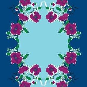 Blue Skies Grandma's Handkerchief Stripe