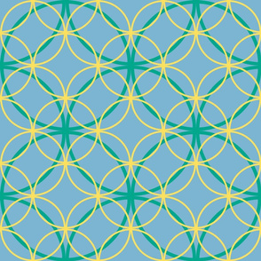 Encircled ~ Ozma, Sky Blue and Lemon