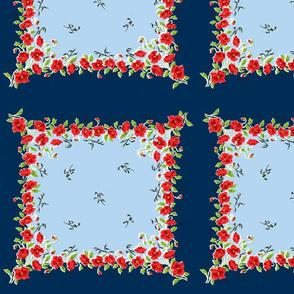 Fourth of July Grandma's Handkerchief