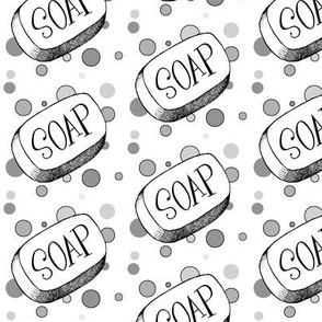 Soap and Bubbles in Grayscale