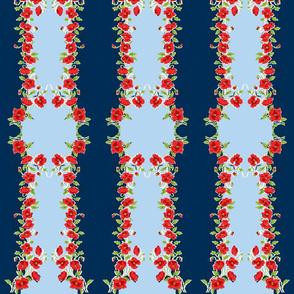 Fourth of July Grandma's Handkerchief Stripe