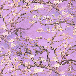 Vincent van Gogh ~ Branches of an Almond Tree in Blossom ~ Lavender
