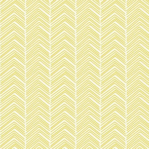 chevron love mustard yellow