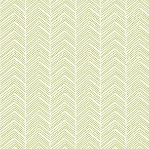 chevron love lime green