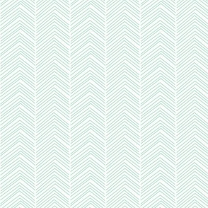 chevron love mint green