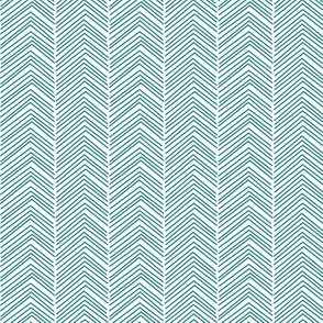 chevron love dark teal