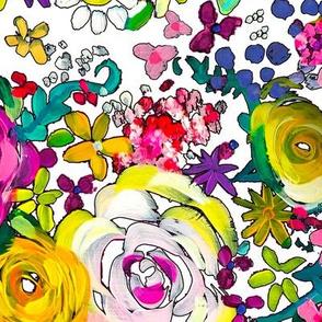 Les Fleurs // White