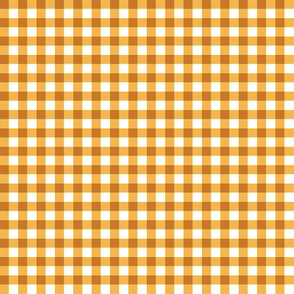 apricot gingham