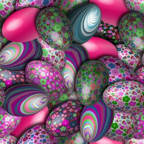 Liberty Eggs pink
