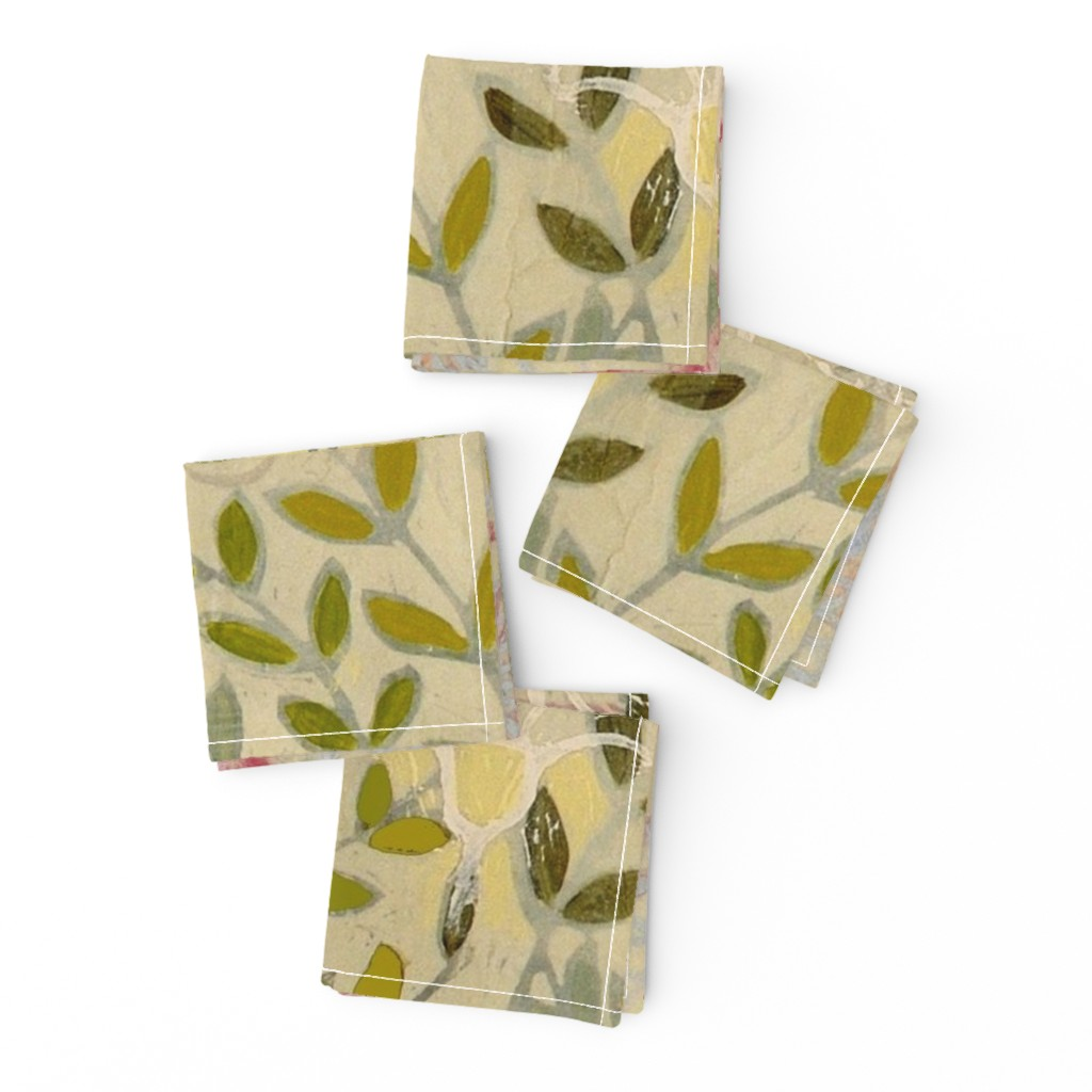 Frizzle Cocktail Napkins featuring pinkdaffs by maria_pezzano
