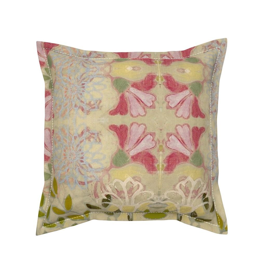 Serama Throw Pillow featuring pinkdaffs by maria_pezzano