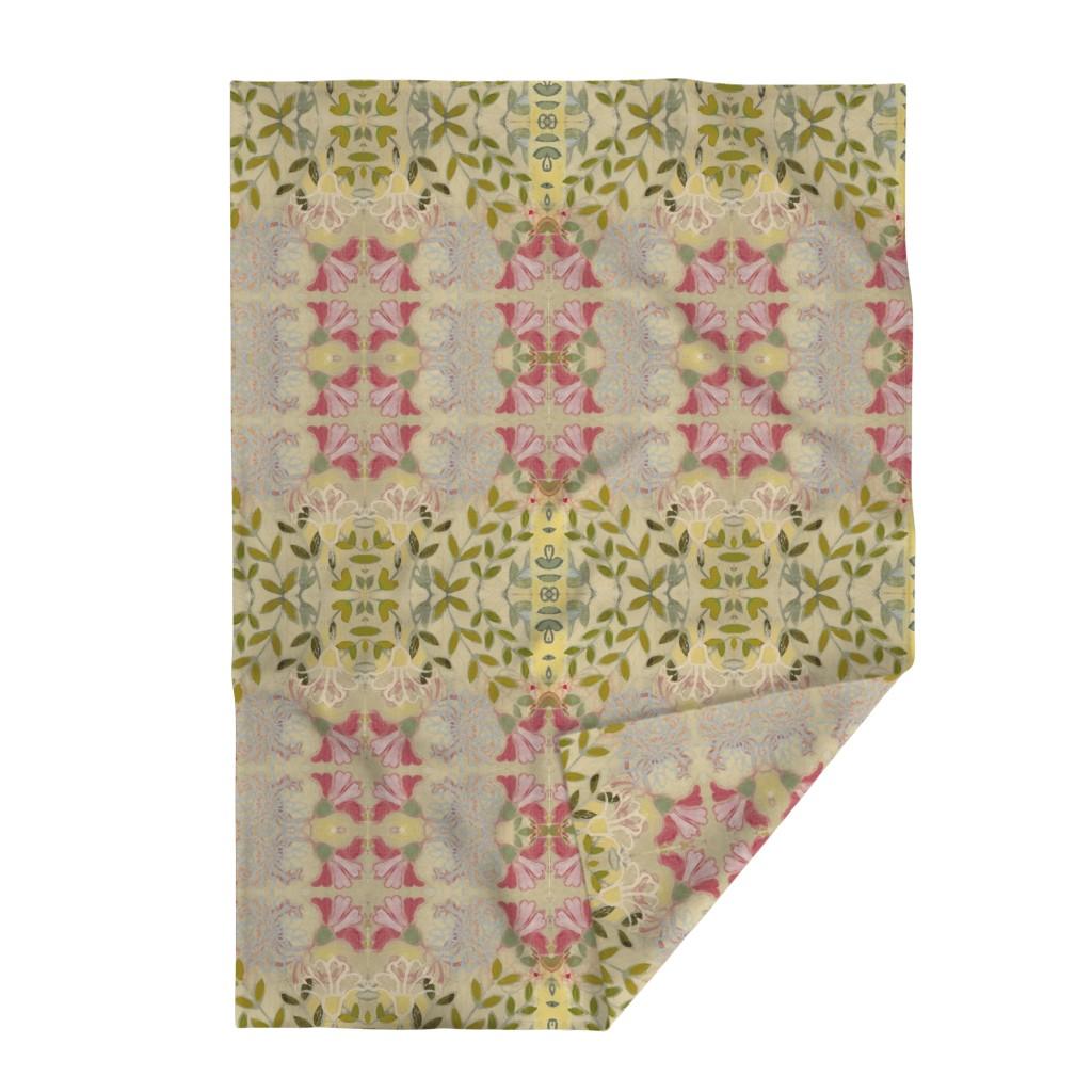 Lakenvelder Throw Blanket featuring pinkdaffs by maria_pezzano