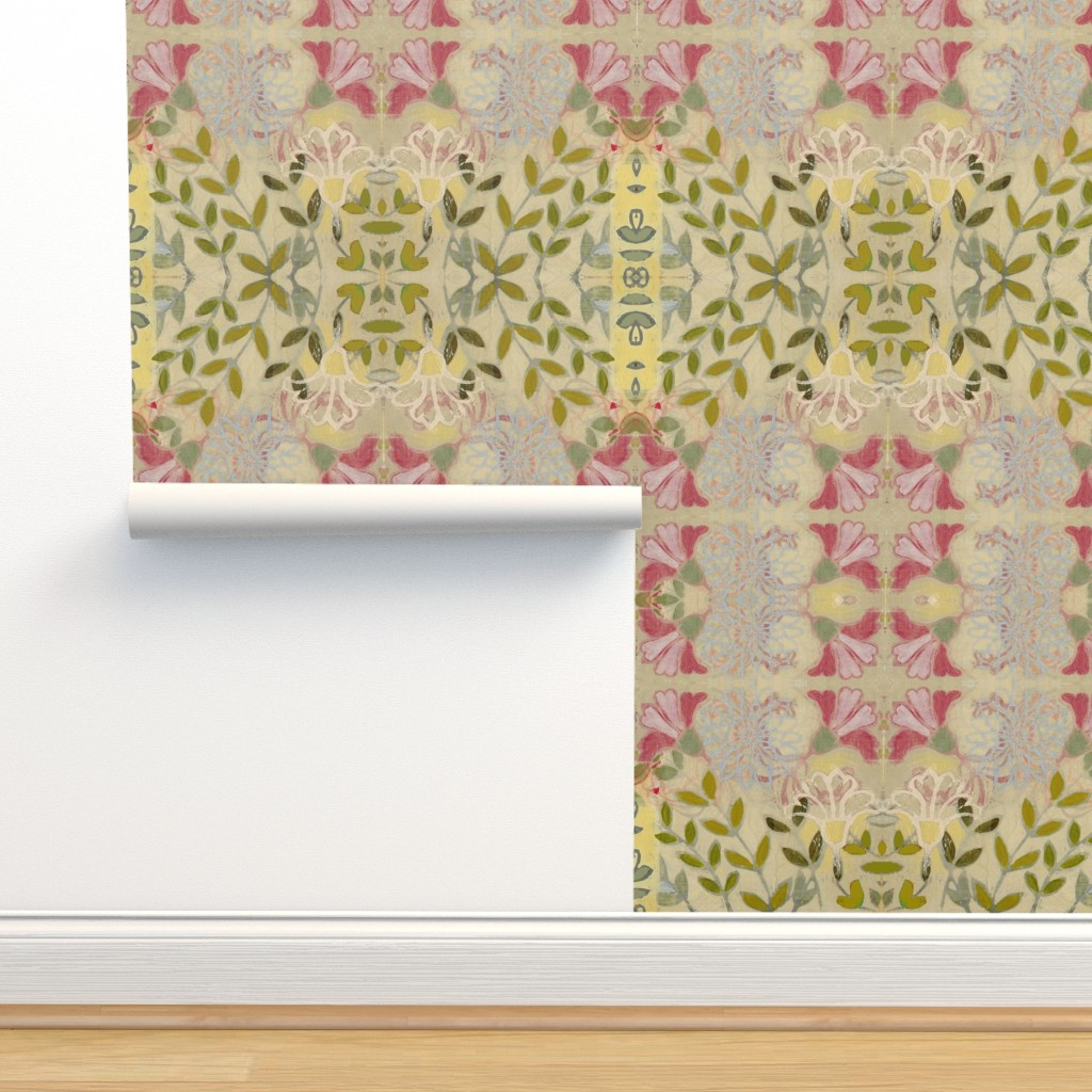 Isobar Durable Wallpaper featuring pinkdaffs by maria_pezzano