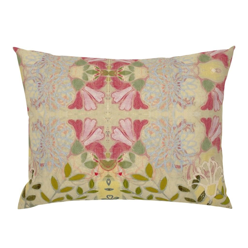 Campine Pillow Sham featuring pinkdaffs by maria_pezzano