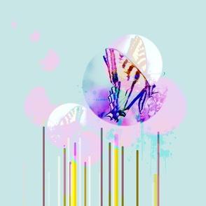 Flutter in Aquamarine