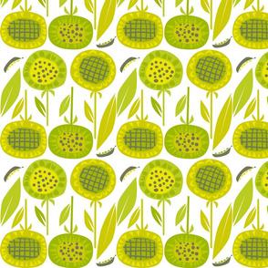 green_sunflowers