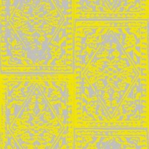 Diamond Block Print