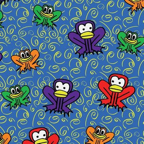 z3 - Frogs in Blue