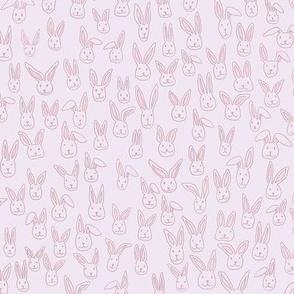 Bunny Pile (pink)