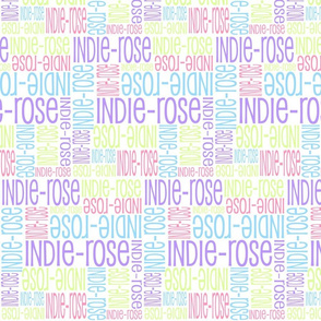 Personalised Name Fabric - Brights