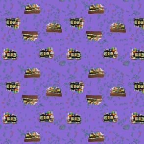 Trucks Parking - Purple