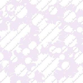 Coordinate Souvenirs de Paris (Lavender)