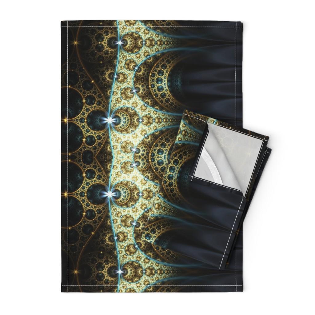 Orpington Tea Towels featuring Arabian Nights by winter