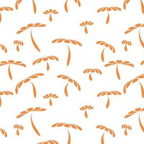 orange ditsy doodle