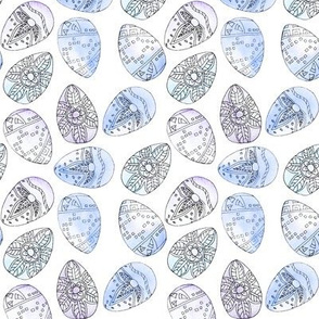 Watercolour Eggs