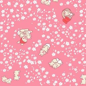 Baby Bunny Hanami