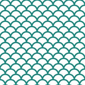 teal scales