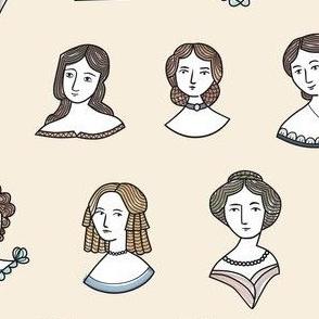 Jane's Romantic Ladies
