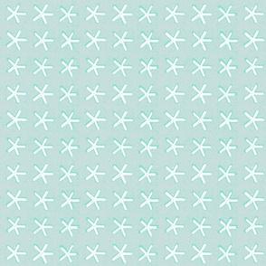 carolina star - sea glass